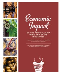 Econ. Impact PA Wine + Grape Industries by county